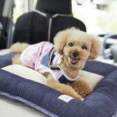 Sippole2WAYローベッドM犬猫シニアペットマットお出かけドライブベッドデニムカジュアルシバ柴犬フレンチブルしっぽるPEPPYペピイ