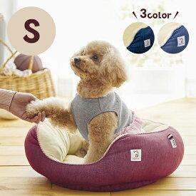 Sippole 2WAYオーバルベッド S 犬 猫 ペット あごのせ もっちり ベッド デニム カジュアル シンプル チワワ トイプードル しっぽる PEPPY ペピイ