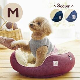 Sippole 2WAYオーバルベッド M 犬 猫 ペット あごのせ もっちり ベッド デニム カジュアル シンプル シバ 柴犬 フレンチブル しっぽる PEPPY ペピイ