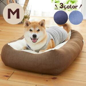 Sippole 2WAY極ふわクッション M 犬 猫 ペット ベッド クッション ふわふわ 寝やすい シンプル かわいい Sippole ペピイ PEPPY