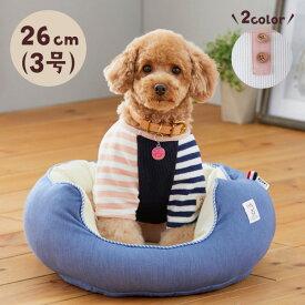 Sippole スリットラグランT 3号 犬 いぬ 服 ウェア Tシャツ ラグラン かわいい ボーダー おしゃれ シンプル 着せやすい しっぽる ペピイ PEPPY
