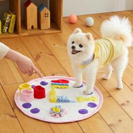 Sippole スナッフルマット クロック 犬 おもちゃ 知育おもちゃ ストレス発散 宝探し 脳トレ かわいい ペット しっぽる ペピイ PEPPY