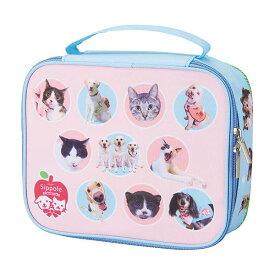 Sippole チャリティポーチ 犬 猫 チャリティー 盲導犬 保護猫 応援 いぬ ねこ ペット ペピイ PEPPY