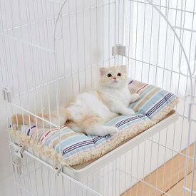ケージ用リバーシブルベッド マット クッション リバーシブル 猫 PEPPY ペピイ 秋冬