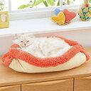 抗菌防臭ふんわりどこでもベッド 猫 マット ベッド 2通り 防災 軽量 ふわふわ あったか 秋 冬 寒さ対策 ふみふみ ペ…