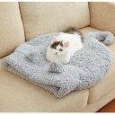 抗菌防臭ふんわりにゃん袋 猫 ベッド マット あったか ふわふわ 秋 冬 寒さ対策 ふみふみ もこもこ かわいい 猫耳 ペ…