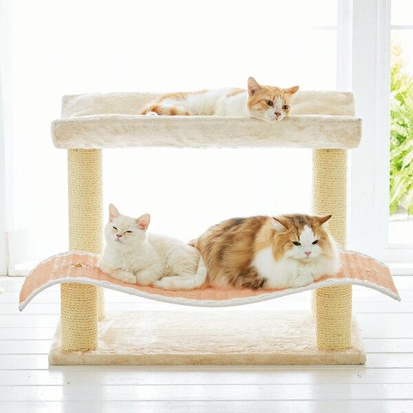 王様ベッド ピンク 猫 ペピイオリジナル 2018春夏