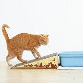 PEPPY(ペピイ)にゃんこスロープ【シニア老齢猫介護介助ペットグッズダンボール猫猫用品猫用】