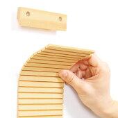 半分に切ったり、爪とぎ部分を短く切って高さを調整して使用することもできます。