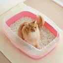マーカーハーフカバートイレ 猫 トイレカバー はみ出し防止 抗菌 PEPPY ペピイ