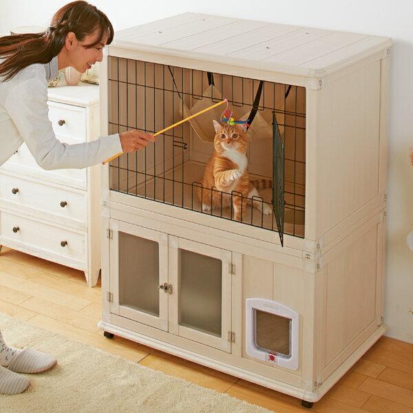 ウッディーキャットルーム 猫 ハウス ペピイオリジナル