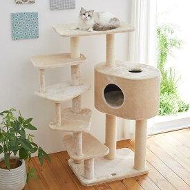 ステップいっぱいキャットタワー 猫 ねこ タワー 多頭 仔猫 シニア猫 短足 ステップ ハウス ペット ペピイ PEPPY