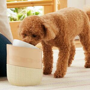 ルルパスタンド S 径15×高さ17〜19.5cm 食器台 スタンド 犬 猫 ペット ペピイオリジナル