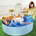 セール たためるドッグプール M 犬 プール おもちゃ 夏 たためるプール 犬用プール PEPPY ペピイ