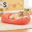 抗菌防臭ふんわりスクエアベッド S 犬 ベッド あったか ふわふわ 秋冬 防ダニ 清潔 洗える ペット PEPPY ペピイ