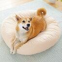 ラウンドベッド用涼感カバー 中【ベッド クッション 夏用 小型犬 中型犬 犬 犬用品 犬用 猫 猫用品 猫用 コットン 洗…
