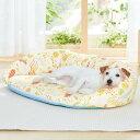 涼眠リバーシブルベッド SS 犬 猫 ベッド 小型犬 リバーシブル クール ひんやり 両面 通年 あご乗せ シニア 老犬 高…