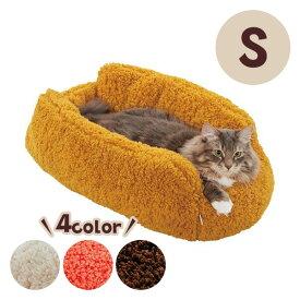 抗菌防臭ふんわりサンドイッチベッド S 犬 猫 ベッド ふわふわ もこもこ あったかい 防寒 冬 かわいい 抗菌 防臭 清潔 ペット ペピイ PEPPY