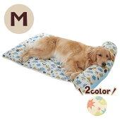 涼眠あごのせマットM犬猫ベッドマット春夏クール通気性涼感2WAYかわいいペットペピイPEPPY