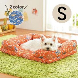 セール あごのせソファベッド S 犬 ベッド ひざ枕 あったか ぬくぬく 保温 秋冬 シニア 老犬 ペット ペピイ PEPPY