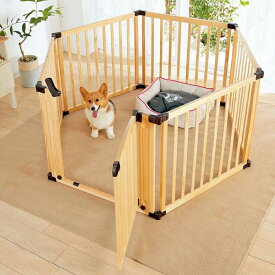 木製サークル フレックス2 本体 犬 室内 ハウス 2017冬