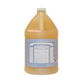 ドクターブロナー マジックソープ 3785ml 1ガロン ベビーマイルド Dr. Bronner's 石鹸・ボディソープ 洗顔 クレンジング [2653]送料無料