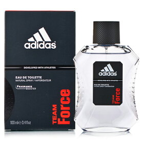 アウトレット アディダス チームフォース オードトワレ EDT SP 100ml 訳あり品(外箱不良) adidas 香水 香水・フレグランス[0075/7597]