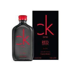 送料無料 CK カルバンクライン シーケーワン レッド フォーヒム オードトワレ EDT SP 100ml CALVIN KLEIN 香水 香水・フレグランス[2885/3097] CK1 CK-one