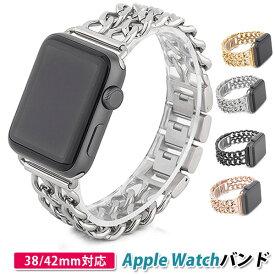 【お買い物マラソン20%OFF】Perfectbag Apple watch バンド アップルウォッチ ベルト 交換 バンド 腕時計 ベルト ステンレス SUS316 38mm 42mm 4色選択可
