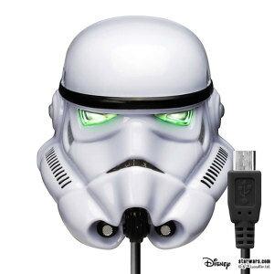 ストーム・トルーパー ACチャージャー AC充電器 micro USBコネクタ 2A スター・ウォーズ モバイル用品 父の日 ギフト プレゼント