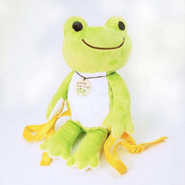 ピクルス 無事かえるキッズリュック リュックサック 振り向き Pickles the frog 新生活 プレゼント