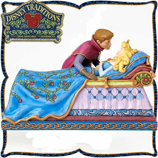10%オフ全商品やってます ~4/22 ディズニー プリンセス 木彫り調フィギュア オーロラ姫とフィリップ王子 (眠れる森の美女) 「キス」 ディズニー・トラディション 新生活 プレゼント