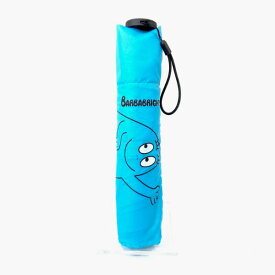 BARBAPAPA バーバパパ 雨晴兼用 軽量 ミニ傘 折りたたみ傘 ピカリ ブルー グッズ