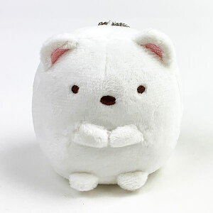 すみっコぐらし しろくま てのひらまねっこ すみっコぐらし しろくま おもちゃ ベビー ストラップ ホワイト