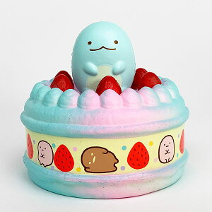 すみっコぐらし とかげ スクイッシーMC マグネットケーキ とかげ すみっこぐらし マグネット ブルー