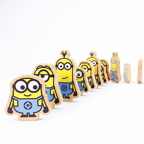 ミニオン パミノ ドミノ 積木 木製玩具 木のおもちゃ 怪盗グルー