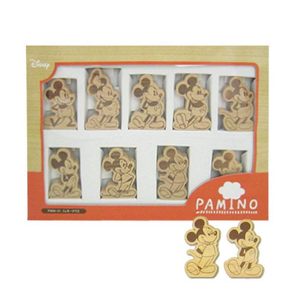 ミッキーマウス パミノ ドミノ 積木 木製玩具 木のおもちゃ ディズニー 新生活 プレゼント 母の日 ギフト プレゼント
