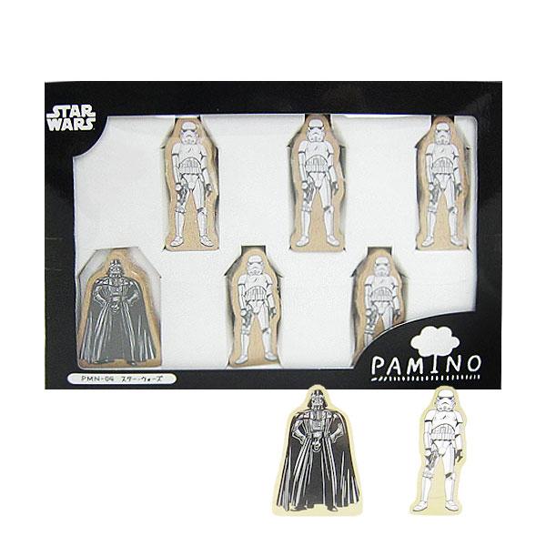 スター・ウォーズ パミノ ドミノ 積木 木製玩具 木のおもちゃ STAR WARS