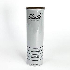 PEANUTS スヌーピー スリムティッシュボトル GY ティッシュケース グレー 日本製