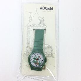 ムーミン カラフルラバー 腕時計 GR グリーン ウォッチ グッズ sale 入園入学