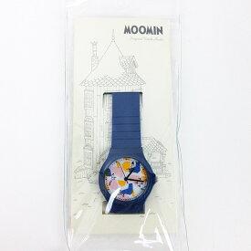 ムーミン カラフルラバー 腕時計 NV ネイビー ウォッチ グッズ sale 入園入学