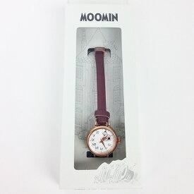 ムーミン アンティークレザー 腕時計 RE レッド ウォッチ グッズ sale 入園入学