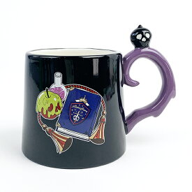 ツイステッドワンダーランド ポムフィオーレ寮 ハンドルマグ マグカップ ツイステ 紫 グッズ