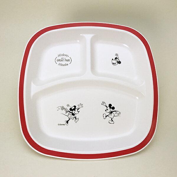 ディズニー ミッキー&フレンズ ミニー 樹脂子供食器 仕切りプレート ランチプレート 新生活 プレゼント