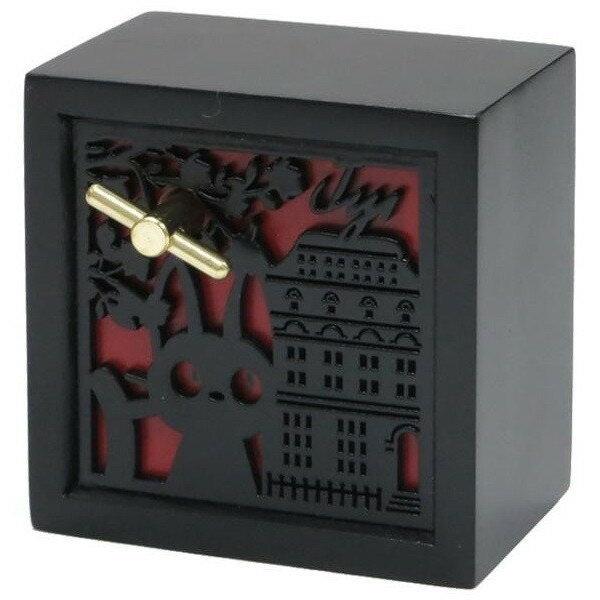 廃盤201606:ジジ 木彫レリーフ ボックス型オルゴール (オルゴール) (魔女の宅急便) スタジオジブリ 新生活 プレゼント