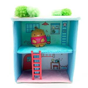 San-X すみっコぐらし すみっコぐらしコレクション すみっコハウス とんかつ すみコレ すみっコ ベビー おもちゃ ブルー グッズ