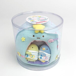 San-X すみっコぐらし すみっコぐらしコレクション すみっコハウス 星のたぴおかハウス ベビー おもちゃ ぺんぎん? ブルー グッズ
