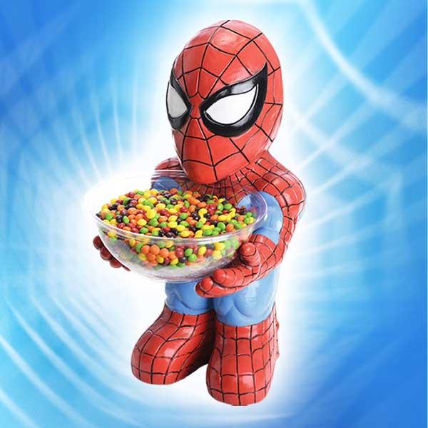 ハロウィン パーティーグッズ 装飾 スパイダーマン キャンディ ボウルホルダー 新生活 プレゼント