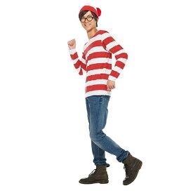 ディズニー コスチューム 大人 ウォーリー コスプレ 大人用 公式アイテム ウォーリーを探せ 仮装 tシャツ