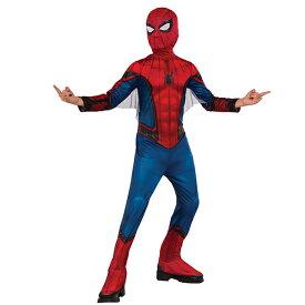 ディズニー コスチューム 大人 MARVEL スパイダーマン ホームカミングコスチューム 子ども用 L:対象年齢/10~12歳 対応身長/140~160cmまで ルービーズ(Rubie's) 子ども用スパイダーマン